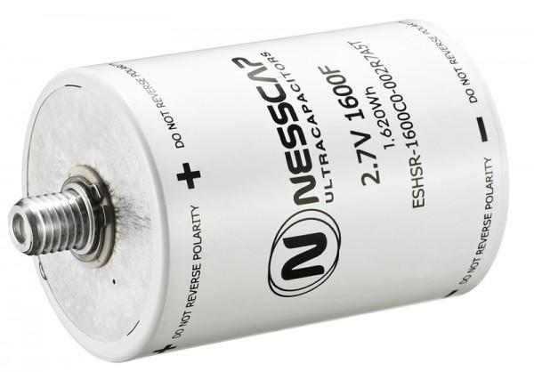 Ultrakondensator Zelle 1600F 2,7V - Hochlast - 60x86mm - M12/M16 Gewinde