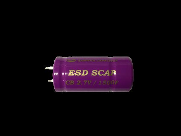 HighEnergy BatteryCap 1500F 2.7V Ø22mm L45mm