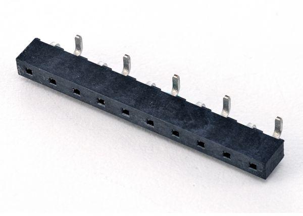 Socket - Fem. Header, SMT, P2.54, H 4.5, G2/S2