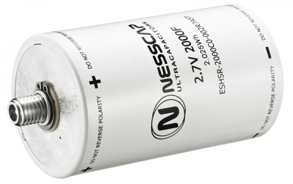 Ultrakondensator Zelle 2000F 2,7V - Hochlast - 60x103mm - (Abgekündigt, nur solange Vorrat reicht)