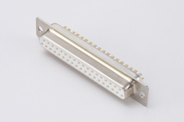 D-SUB - Solder Type 37 Cont. Female white