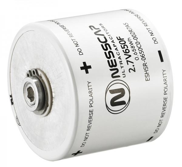 Ultrakondensator Zelle 650F 2,7V - Hochlast - 60x51,5mm - Schweißversion