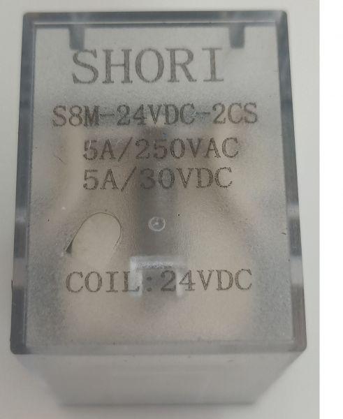Shori Relais S8M-240VAC-4CS 4PDT-4 Wechsler U=240V/AC I=5A