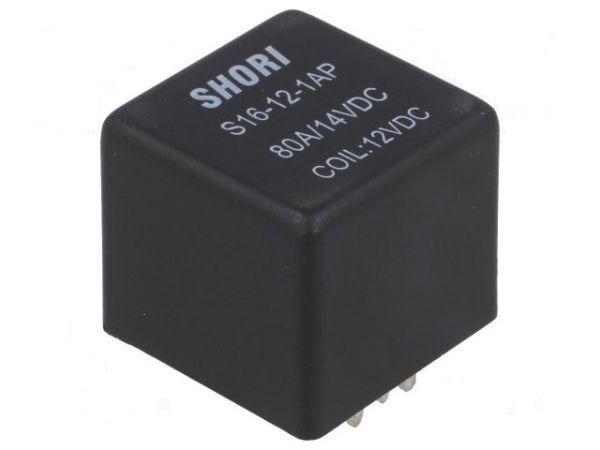 S16-12-1AP Relais SPNO-Schliesser 12V 70A