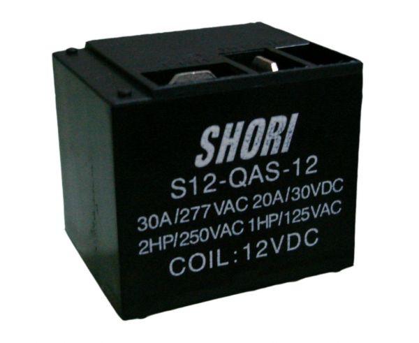 S12-QCS-12 Relais SPDT-Wechsler 12V 20A