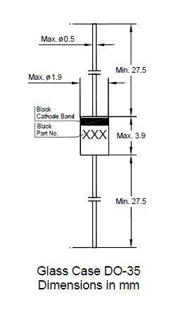 BZX55C3V3 DO-35 Ammo 3.3V 5mA