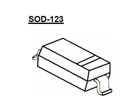BZT52C3V3 SOD-123 T&R 3.3V 5mA