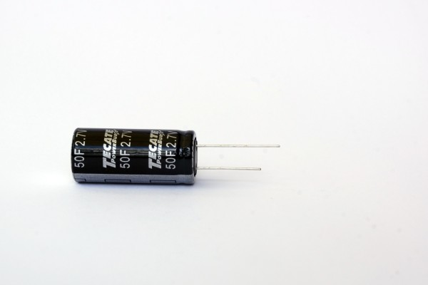 Supercap Zelle 25F 2,7V Ø16mm L26mm