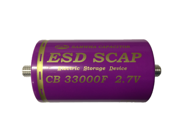 HighEnergy BatteryCap 33000F 2.7V Ø60mm L102mm