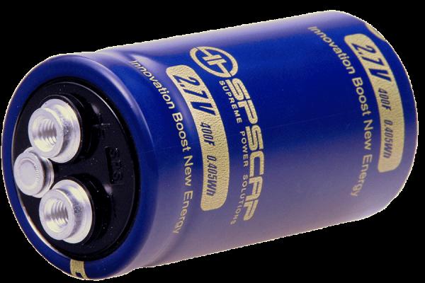 Ultracap Zelle 700F 2,7V Innengewinde 2xM5