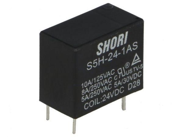 S5H-12-1AS Relais SPNO-Schliesser 12V 10A