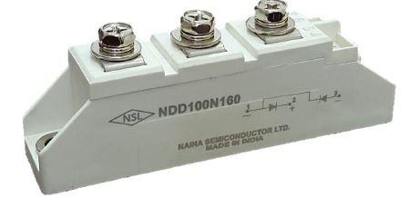 DIODE MODULE 1400V 82A NDD81E140