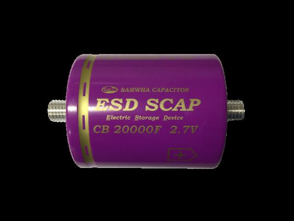 HighEnergy BatteryCap 20000F 2.7V Ø60mm L74mm