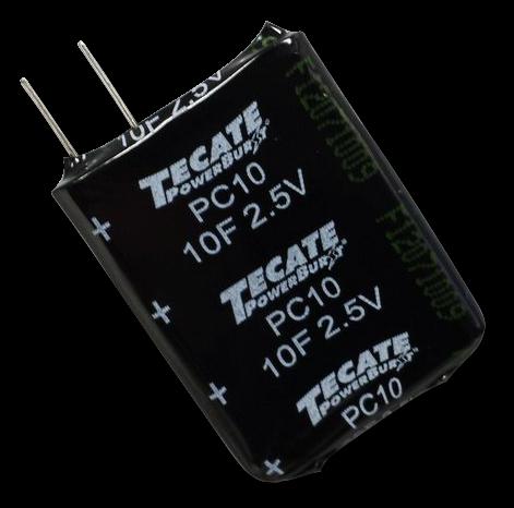Supercap Zelle 10F 2,5V - PC10 - Hermetisch versiegelt
