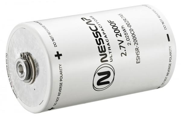 Ultrakondensator Zelle 2000F 2,7V - Hochlast - 60x102mm - Schweißversion