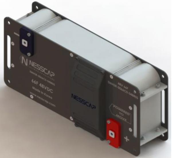 Ultrakondensator Hochleistung Modul 66F 48V