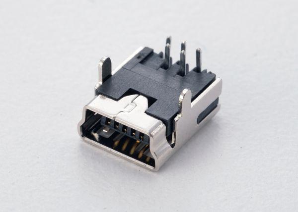 Mini USB - B type, 5pin DIP