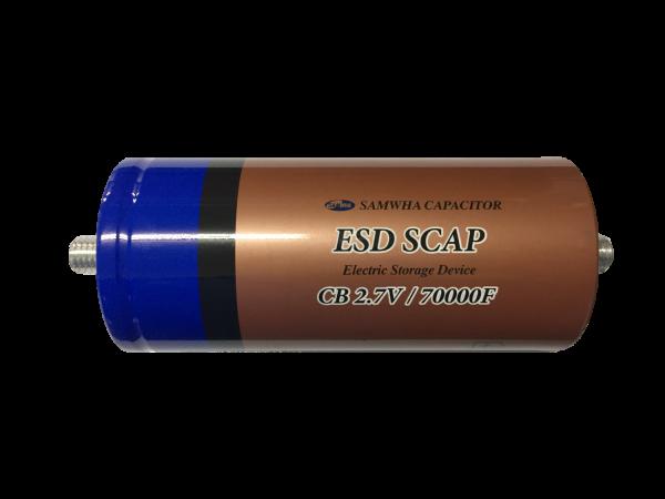 HighEnergy BatteryCap 70000F 2.7V Ø60mm L138mm