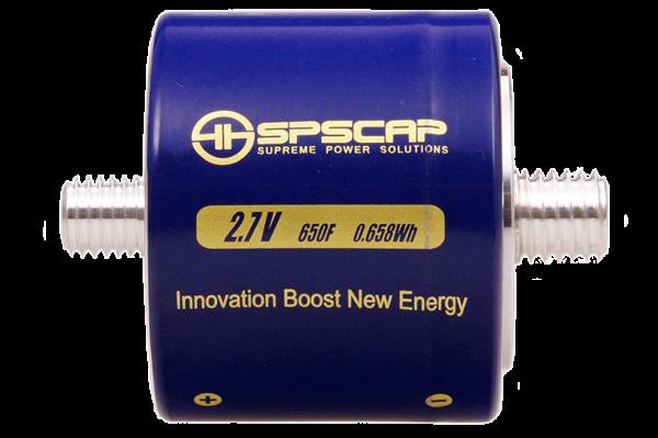 Ultracap Zelle 650F 2,7V Gewinde M12+14