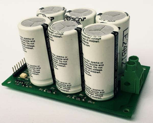 Ultrakondensator Modul 15V 16F